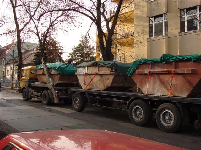 Konténeres sittszállítás Budapest