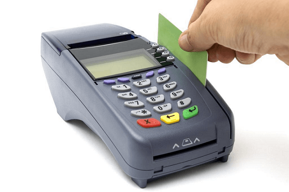 konténeres szállítás fizetése bankkártyával